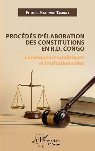 Couverture Procédés d'élaboration des constitutions en R.D. Congo