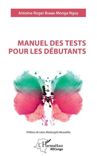 Couverture Manuel des tests pour les débutants