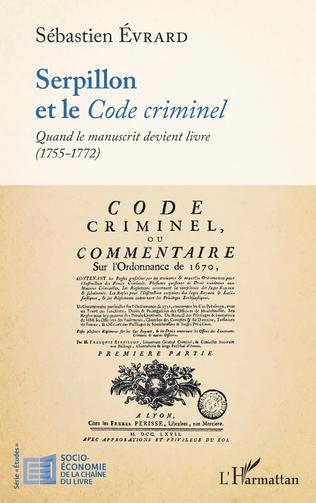Couverture Serpillon et le <em>Code criminel</em>