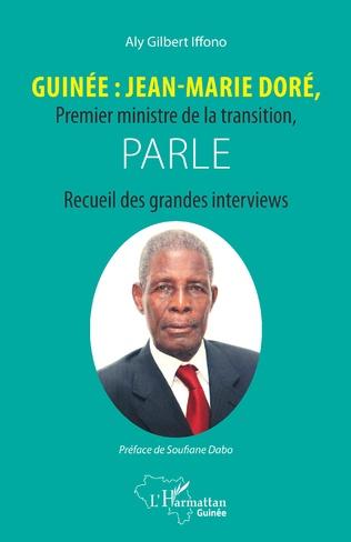 Couverture Guinée : Jean-Marie Doré, Premier ministre de la transition, parle