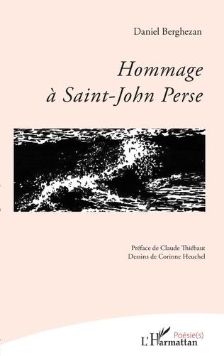 Couverture Hommage à Saint-John Perse