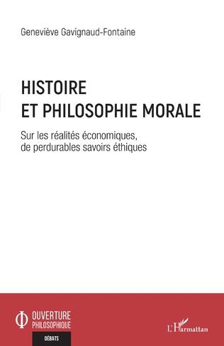 Couverture Histoire et philosophie morale