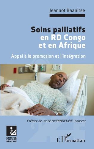 Couverture Soins palliatifs en RD Congo et en Afrique. Appel à la promotion et l'intégration