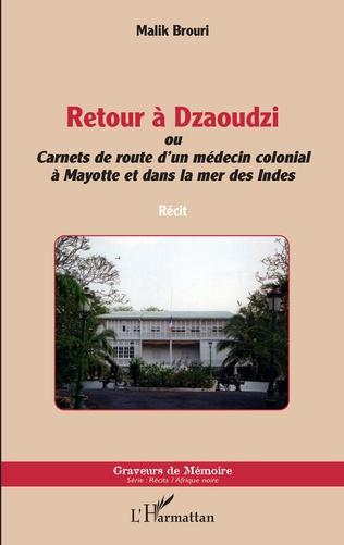 Couverture Retour à Dzaoudzi