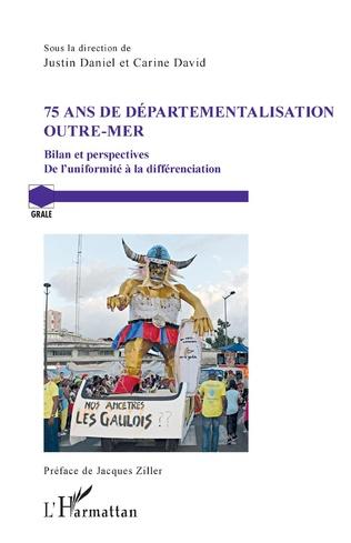 Couverture 75 ans de départementalisation outre-mer