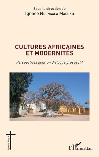 Couverture Cultures africaines et modernités