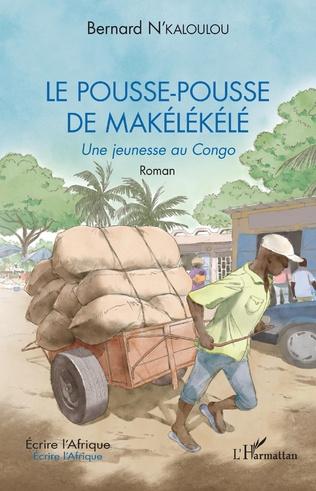 Couverture Le pousse-pousse de Makélékélé