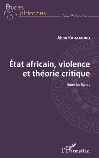 Couverture État africain, violence et théorie critique