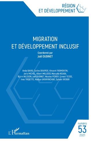 Couverture Migration et développement inclusif