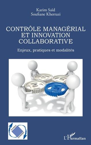 Couverture Contrôle managérial et innovation collaborative