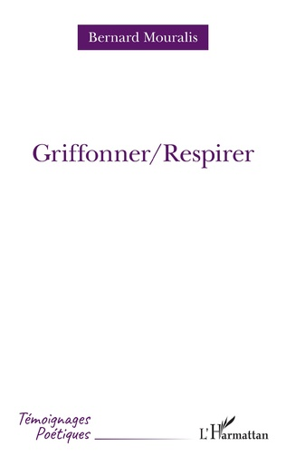 Couverture Griffoner/Respirer