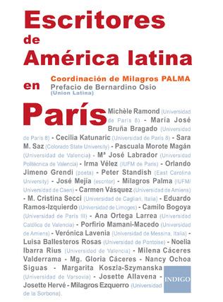 Couverture Escritores de América latina en París