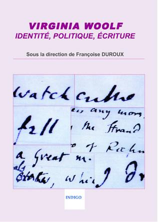 Couverture Virginia Woolf : identité, politique, écriture