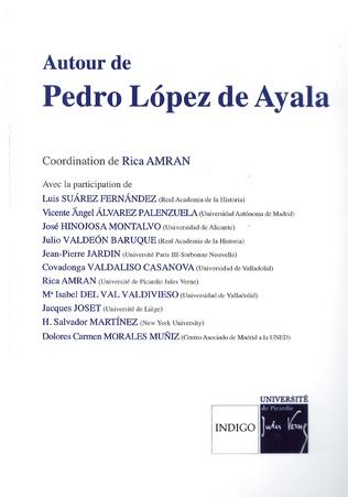 Couverture Autour de Pedro López de Ayala