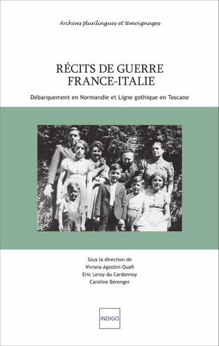 Couverture Récits de guerre France-Italie