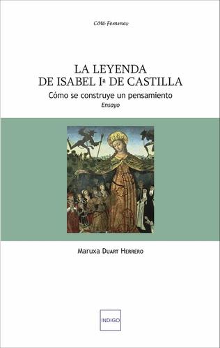 Couverture La leyenda de Isabel primera de Castilla