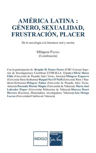 Couverture América Latina : généro, sexualidad, frustración, placer