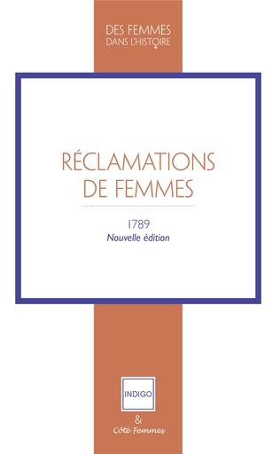 Couverture Réclamations de Femmes