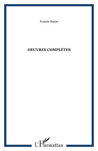 Couverture Oeuvres complètes