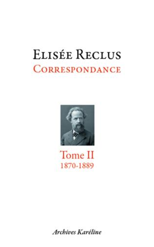 Couverture Correspondance. Tome II - 1870-1889