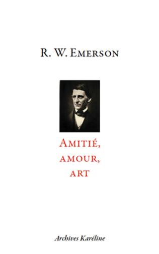 Couverture Amitié, Amour, Art