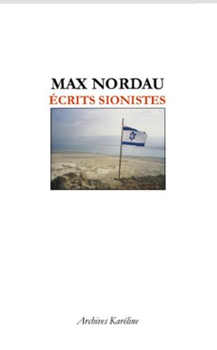 Couverture Ecrits sionistes