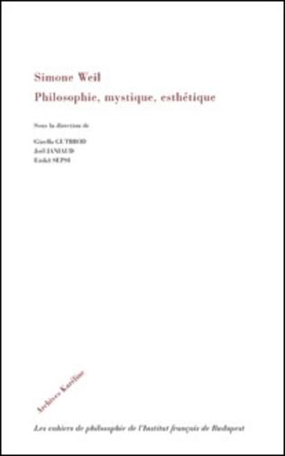 Couverture Simone Weil
