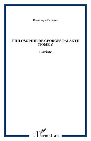 Couverture Philosophie de Georges Palante (Tome 1)
