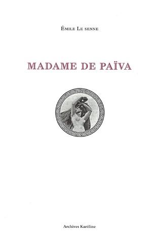 Couverture Madame de Païva