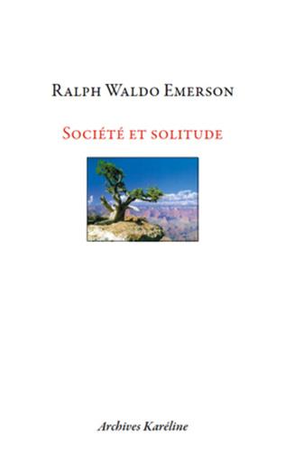 Couverture Société et Solitude