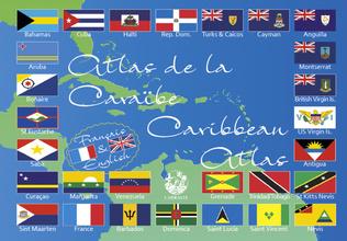 Couverture Atlas de la Caraïbe