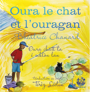 Couverture Oura le chat et l'ouragan
