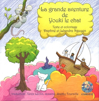 Couverture La grande aventure de Youki le chat