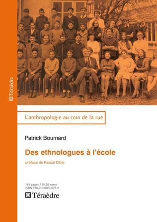Couverture Des ethnologues à l'école