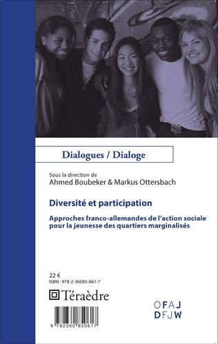 Couverture Diversité et participation
