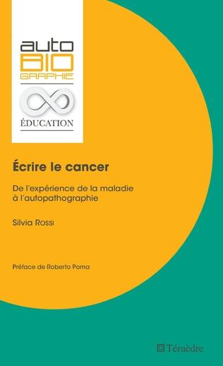 Couverture Écrire le cancer