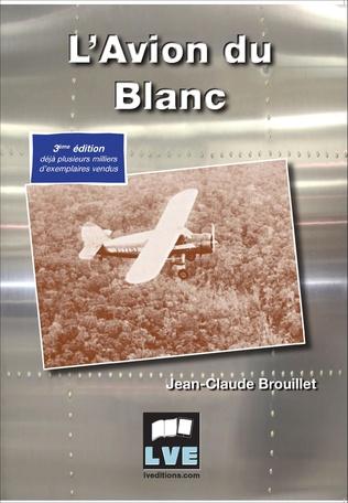 Couverture L'avion du blanc