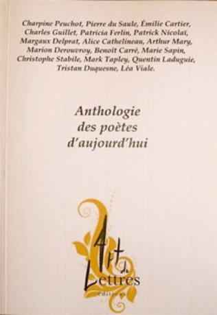 Couverture Anthologie des poètes d'aujourd'hui