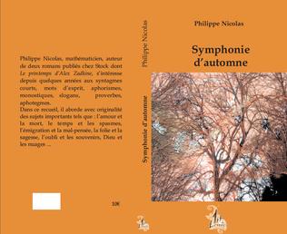 Couverture Symphonie d'automne