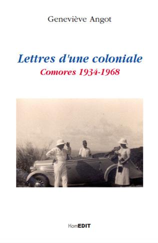 Couverture Lettres d'une coloniale