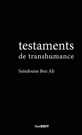 Couverture Testaments de transhumance