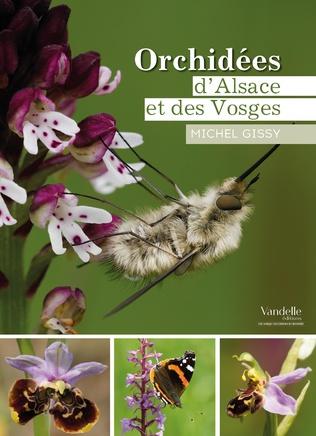 Couverture Orchidées d'Alsace et des Vosges
