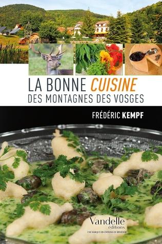 Couverture La bonne cuisine des montagnes des Vosges