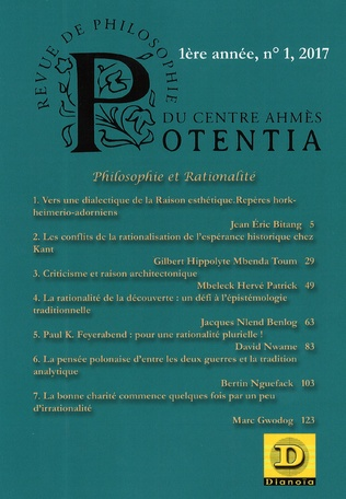 Couverture Philosophie et rationalité