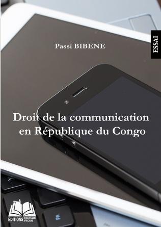 Couverture Droit de la communication en République du Congo