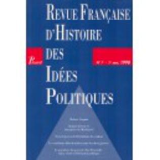 Couverture Revue française d'histoire des idées politiques - 7