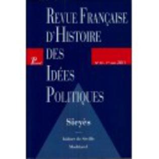 Couverture Revue française d'histoire des idées politiques - 33