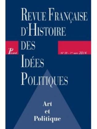 Couverture Revue française d'histoire des idées politiques - 39