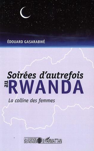 Couverture Soirées d'autrefois au Rwanda
