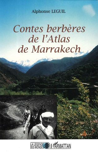 Couverture Contes berbères de l'Atlas de Marrakech